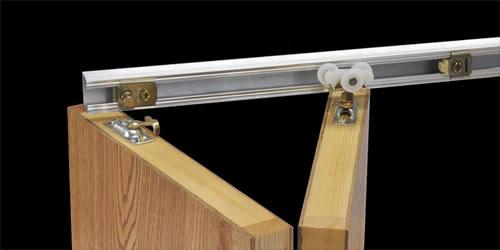 Track + Hardware - Bi-Fold Closet Doors (For Doors with 1-1/8 ...