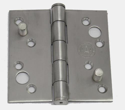 Pair Of 4 X 4 Hinges With Security Pin